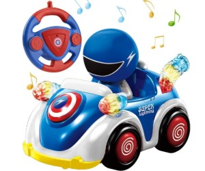 NQD RC Cartoon Race Car with Music and Lights review