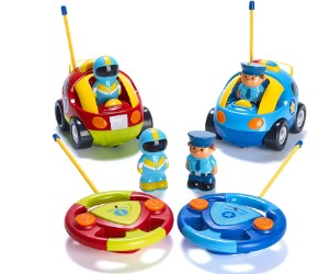 Prextex Cartoon RС Police Car, Pack of 2  review