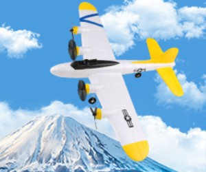 MakerFire RC Airplane B17 review