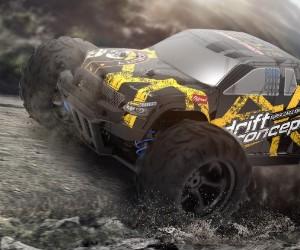1:18 DEERC 300E Racing RC Monster Truck review