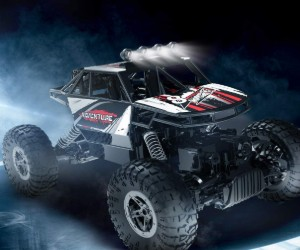 1:16 DEERC DE45 RC Rock Crawler & Monster Truck review
