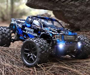 1:18 Haiboxing 18859E Blue RC Monster Truck Hobby Grade review
