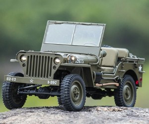 1:6 RocHobby 1941 MB Scaler RC Vehicle review