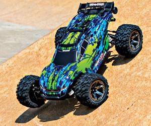 Traxxas Rustler VXL RC Car